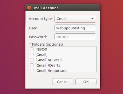 Mailnag email notifier