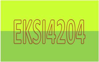 Soal Latihan Mandiri Analisis Informasi Keuangan EKSI4204