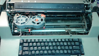 Selectric III Dvorak Conversion (Before)
