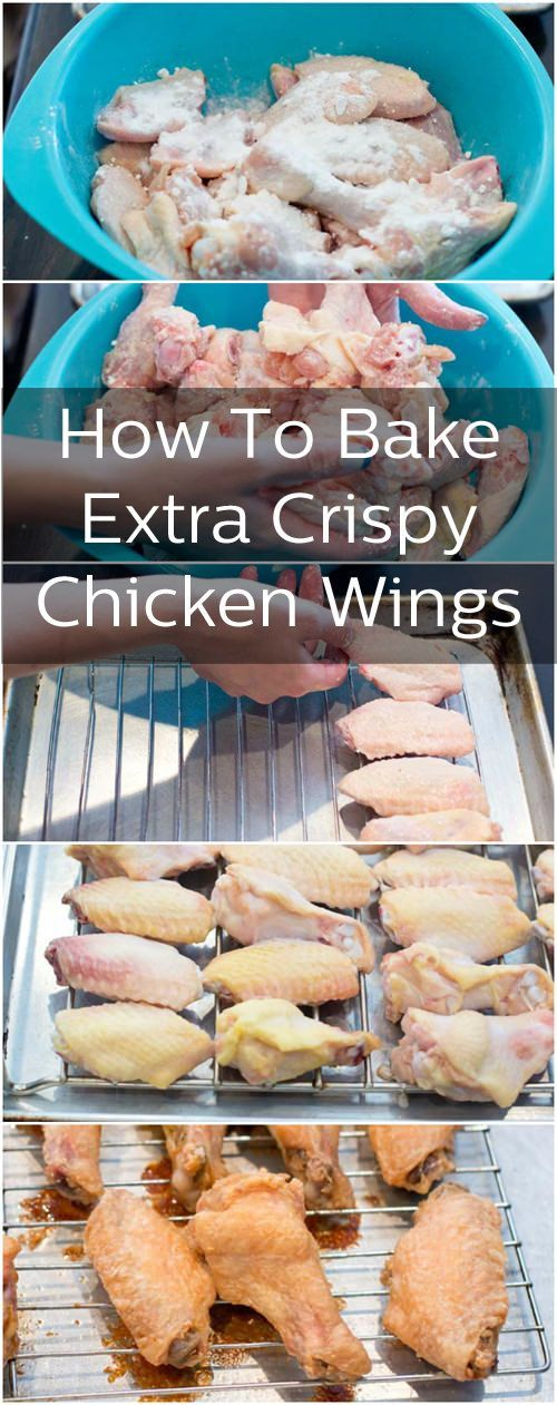 How to Bake Chicken Wings That Are SOOO Crispy