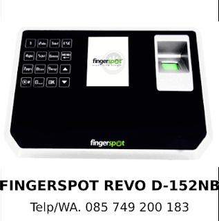 Jual Mesin Sidik Jari Fingerspot Revo D-152NB Asli Original