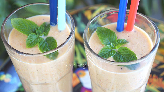 Banana, Carrot, Orange Smoothie-Low Carb