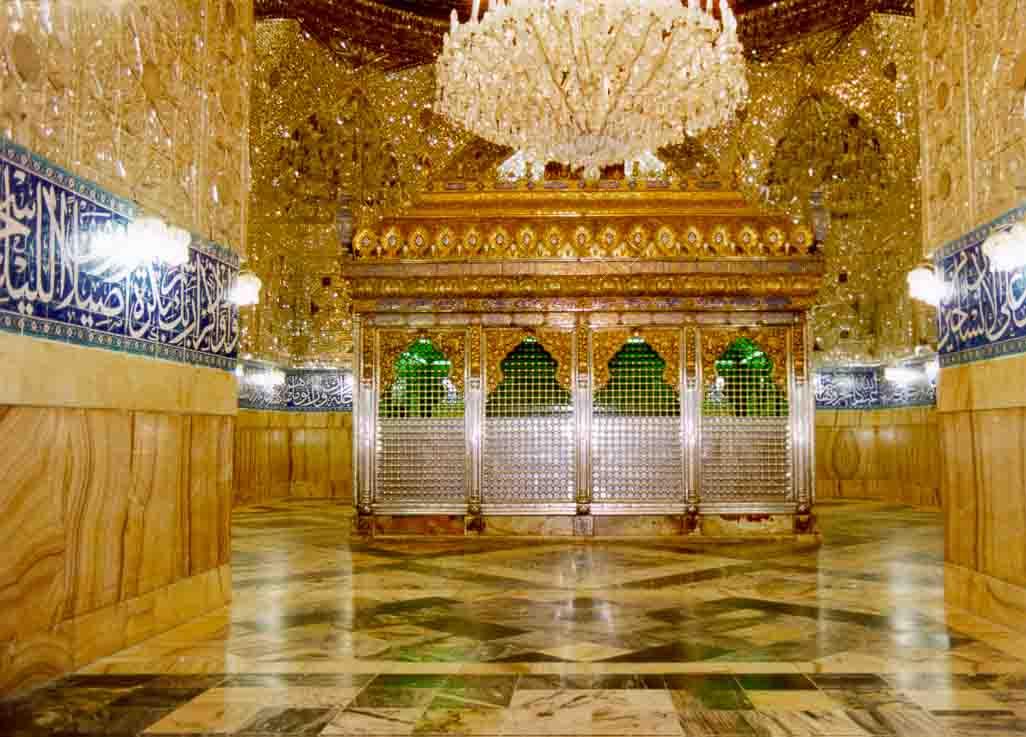 Grave Of Imam Hussain (R.A) Son Of Hazrat ALI - R.A   www ...