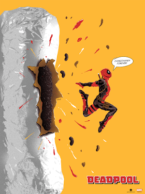 Deadpool Screen Print by Doaly x Grey Matter Art x Marvel