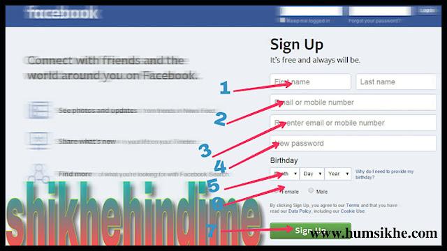 Facebook account kya hai? Facebook  account kaise banaye