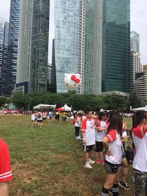 Hello Kitty Run Singapore 2018 Carnival by Sweet Bunny Blogger