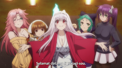 Yuragi-sou no Yuuna-san Batch Subtitle Indonesia + ova