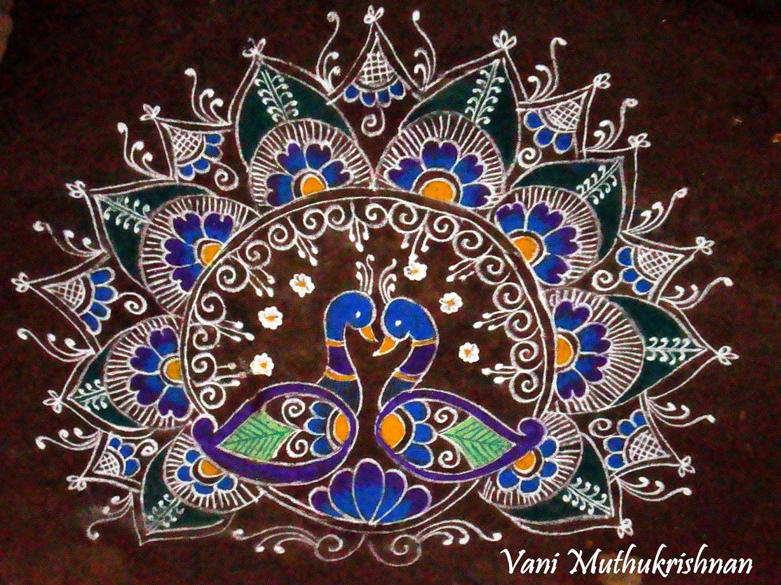 Kolam Designs 3