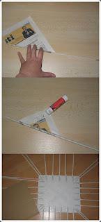 Gazete Kağıdından Sepet Örme Yapımı, Resimli Açıklamalı 1