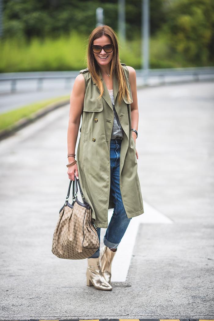 chaleco largo ,escuestiondestilo, personal shopper ,Lucía Díez