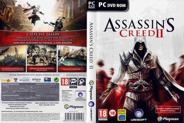 تحميل لعبة الاكشن والمغامرة الجزء الثانى Assassin's Creed 2 على ميديا فاير