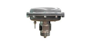 dump valve control valve for separator vessels