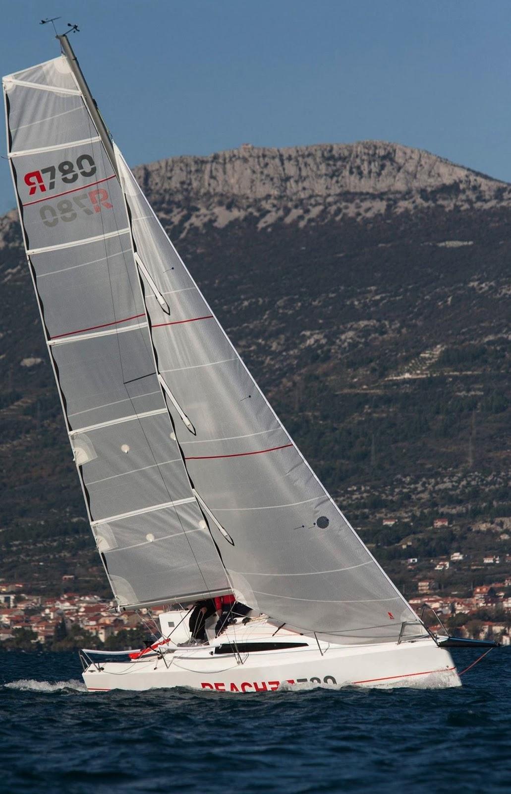Interesting Sailboats: REACHER 780: INEXPENSIVE FAST RACING AND FUN