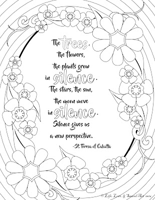 Adult Coloring Pages With Quotes