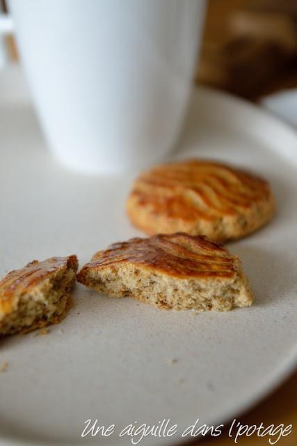 Sablé breton, en version allégée,farine bise et sarrasin