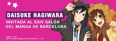 """Eventos: Entrevista a Daisuke Hagiwara, dibujante de """"Horimiya"""" en el XXIV Salón del Manga de Barcelona"""
