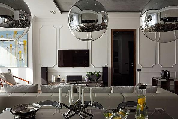 Noir blanc un style - Appartement contemporain kiev ...