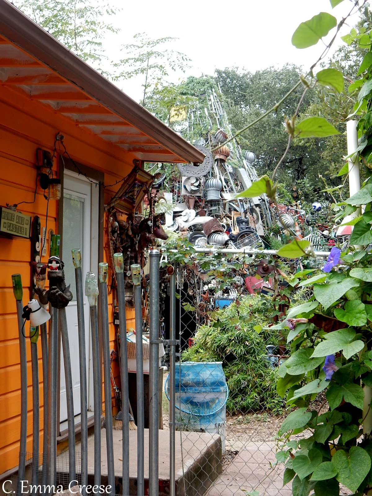 Cathedral of Junk - Keep Austin Weird - 9 of our favourite things to do in Austin, Texas Adventures of a London Kiwi