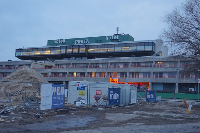 Tallinnan Pirita Spa Hotel / lapsiperheen kokemuksia / remontti käynnissä
