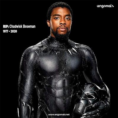Ator Chadwick Boseman, o Pantera Negra dos filmes da Marvel, morreu aos 43 anos