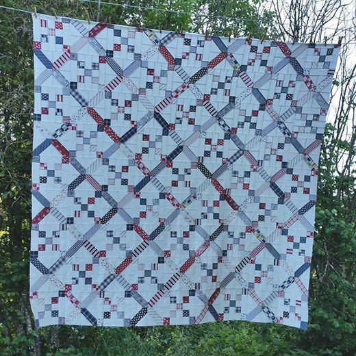 Lattice and Chains Quilt Free Tutorial
