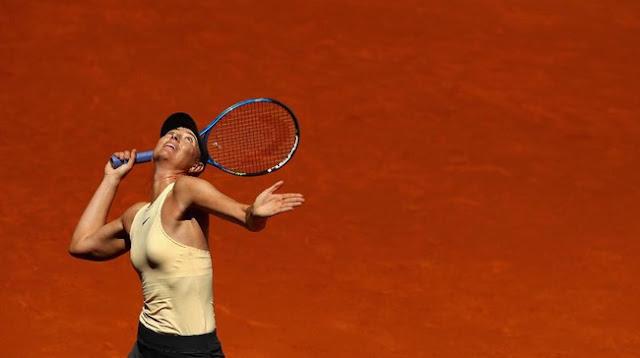Madrid Terbuka: Sharapova Lolos, Petenis-Petenis Top Melaju