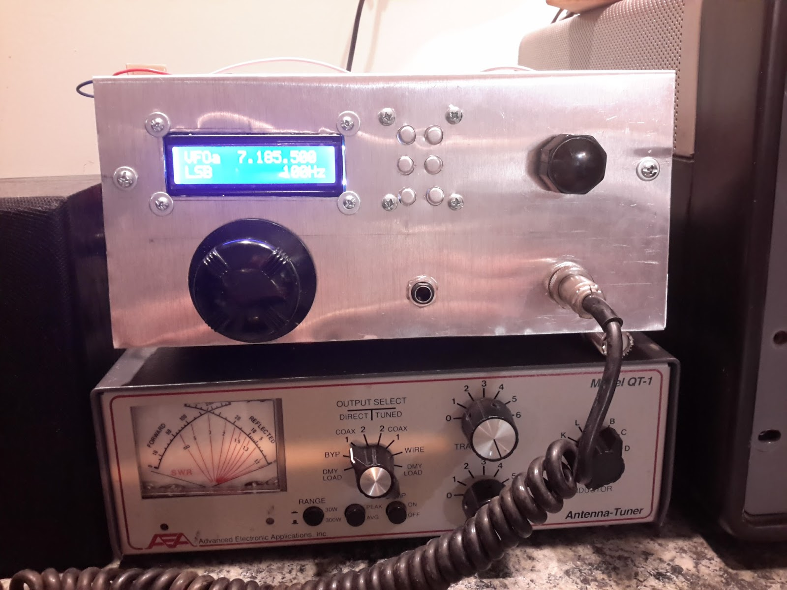 Steves Eclectic Radio Blog 2016 Lm380 25 Watt Amplifier This Little Rig Uses Two Bilateral Termination Sensitive Blocks For The If Stages Homebrew Diode Ring Mixers Mixer And Product Detector