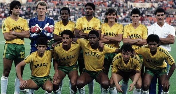 2f113c767364d Veja a evolução dos uniformes do Brasil no futebol olímpico - Show ...