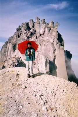 Puncak Gunung Sinabung