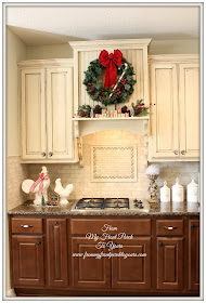 French Country Christmas Kitchen- French Farmhouse- From My Front Porch To Yours
