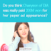 Do you think Chaeyeon of DIA was really paid 200M won for her paper ad appearance?
