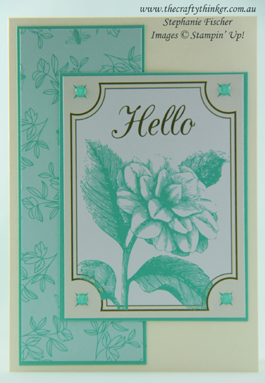 #thecraftythinker  #stampinup  #cardmaking  #easycards  , Tea Room Memories & More cards, simple cards, #SDBH, Stampin' Up Australia Demonstrator, Stephanie Fischer, Sydney NSW