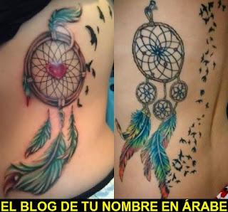 Tatuajes de Simbolos Atrapasueños