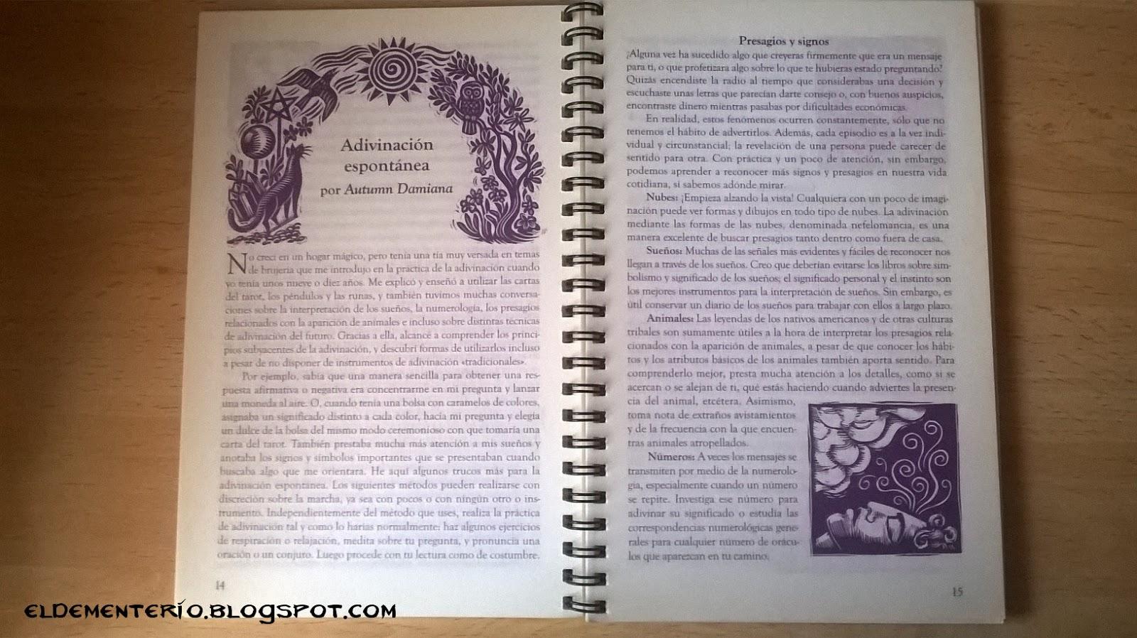 El Dementerio: Agenda de las Brujas