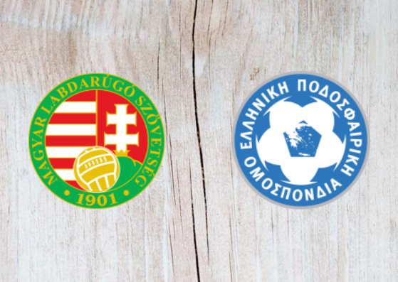 Hungary vs Greece - Highlights 11 September 2018