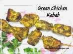 Coriander GreenChicken Kebab
