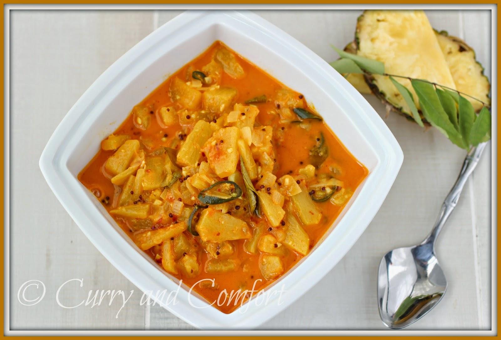 Kitchen Simmer Sri Lankan Pineapple Curry Vegan