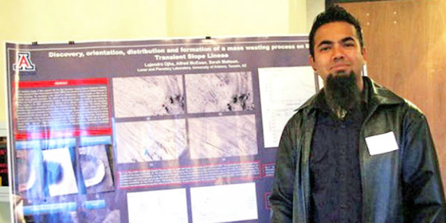 Wooow.... Ini Dia Mahasiswa yang Menemukan Air di Mars