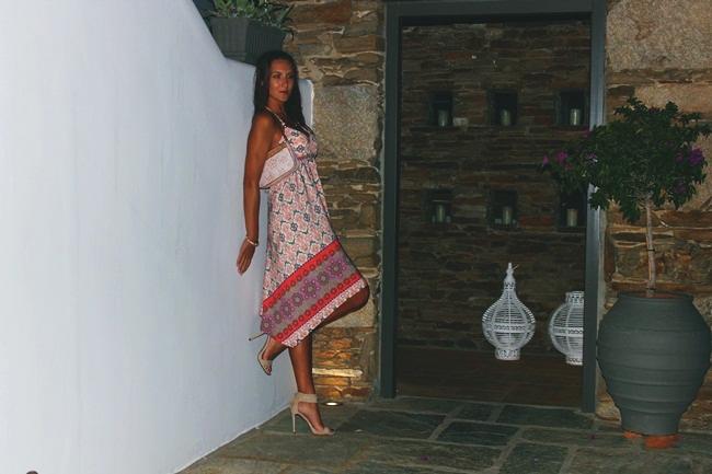 Outfit za letnji odmor, letnje asimetricne haljine