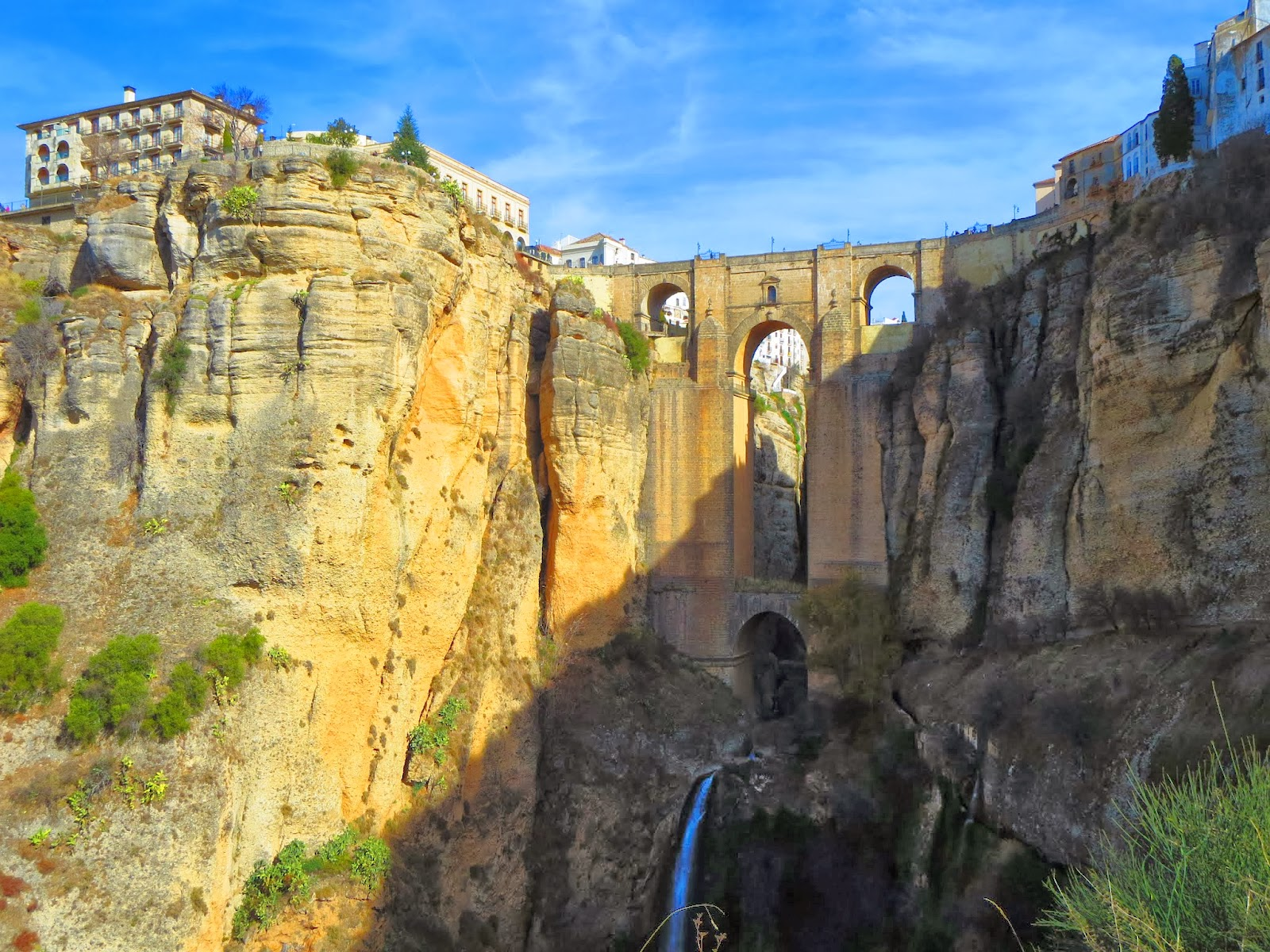 The New Bridge in Ronda, Spain