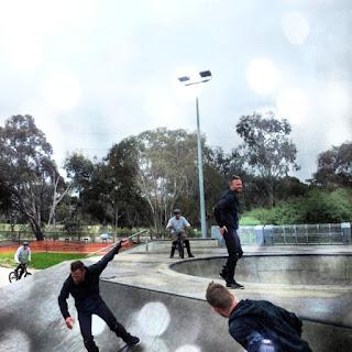Mark Jansen Skateboarding Adelaide Flagstaff Bowl