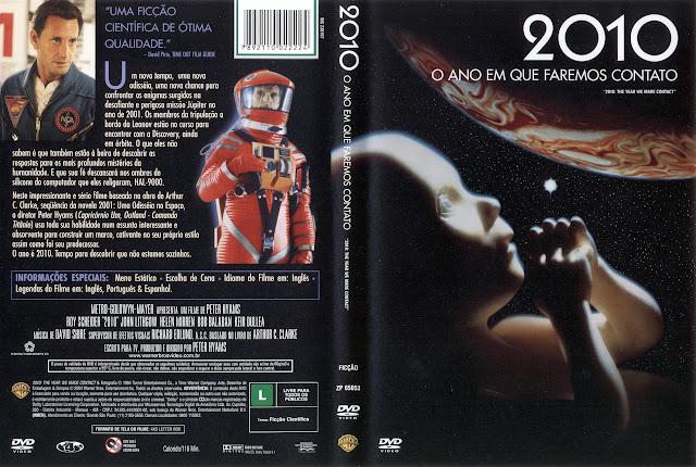 Capa DVD 2010 O ANO EM QUE FAREMOS CONTATO