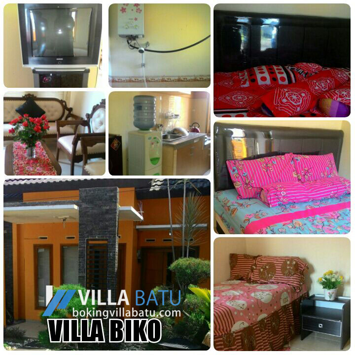 Penginapan Villa Biko Batu - Malang