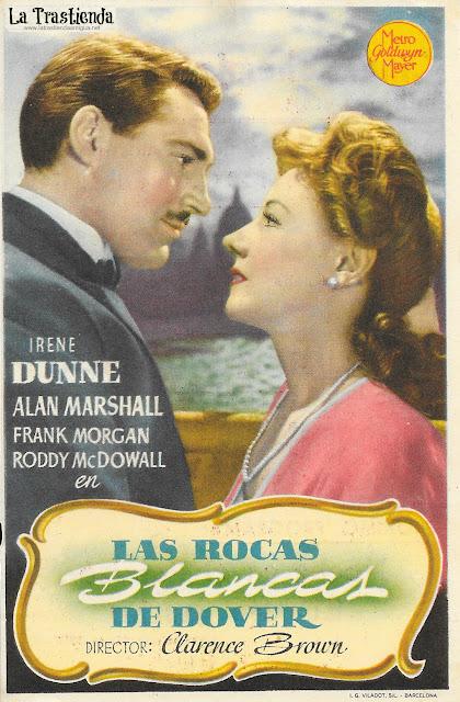 Las Rocas Blancas de Dover - Programa de Cine - Irene Dunne - Alan Marshal