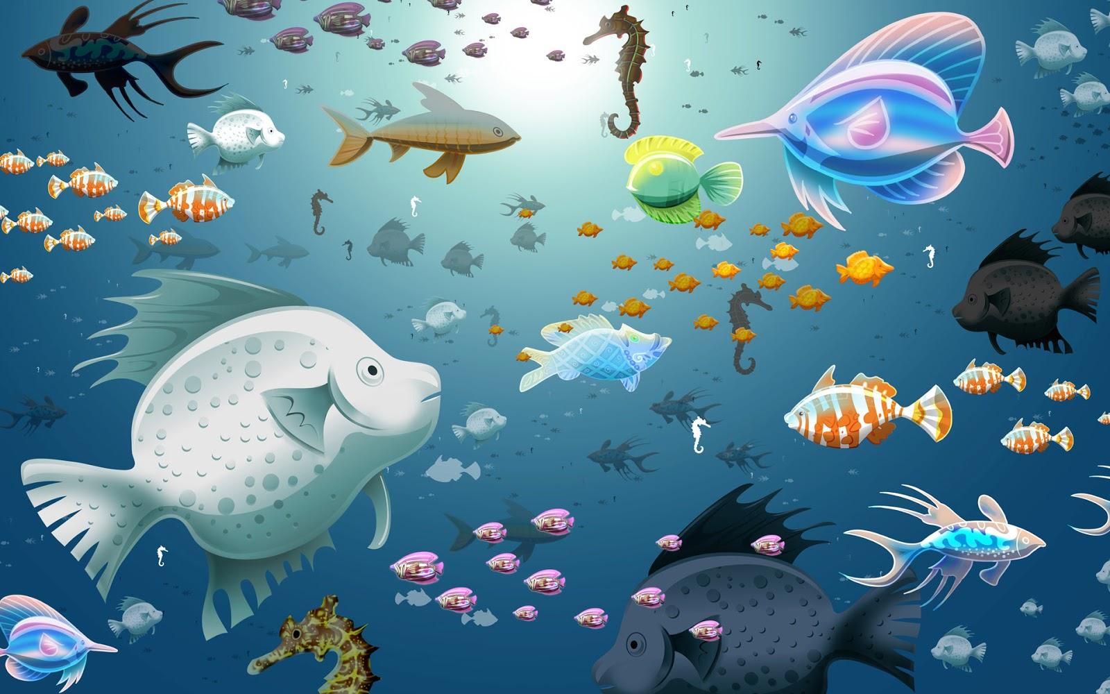 Background Aquarium | Background Desktops Pics