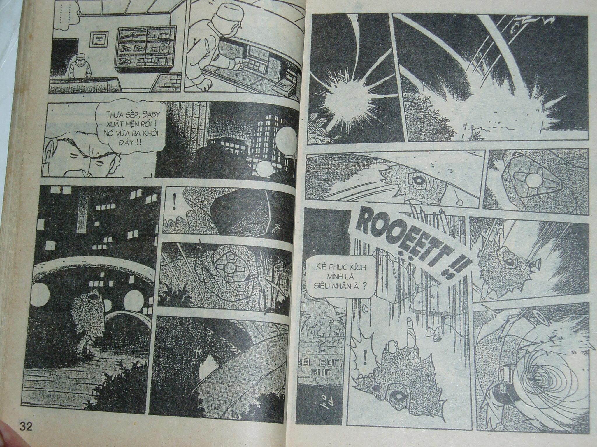 Siêu nhân Locke vol 16 trang 15