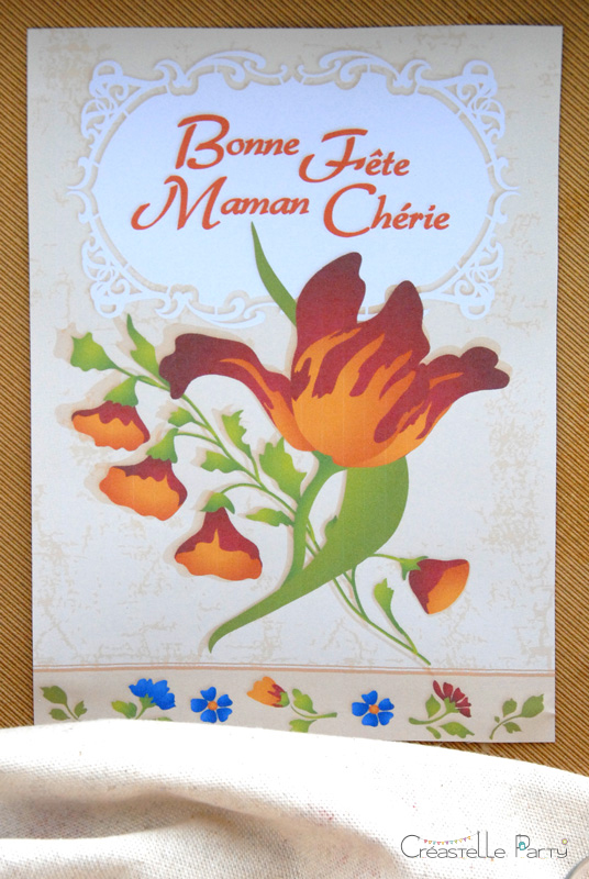 CreastelleParty - Tulip Mother's day - welcome sign