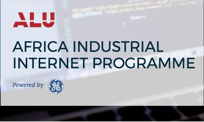 GE/ALU Africa Industrial Internet Programme