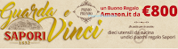 Logo Concorso'' Guarda e vinci Sapori'': vinci gratis forniture di prodotti e buono Amazon da 800€