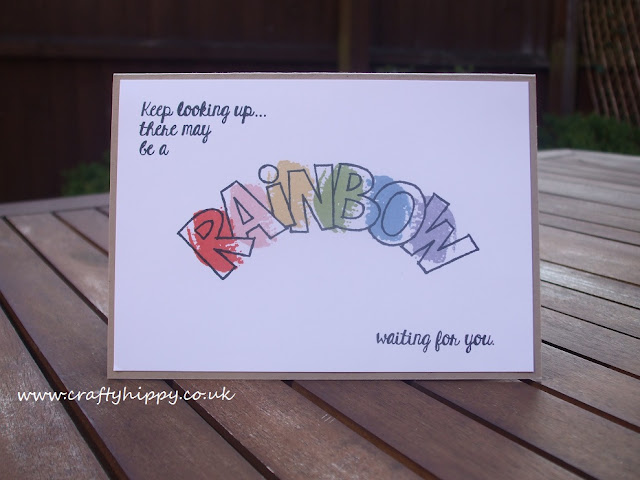 Over The Rainbow, Stampin' Up!